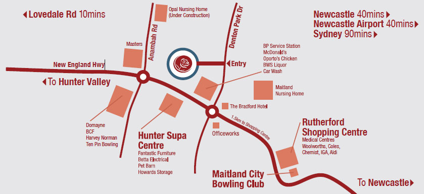 Signature Gardens Map